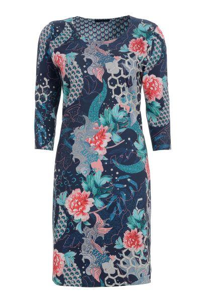 Blusenkleid Jewel Garden mit facettenreichen Prints