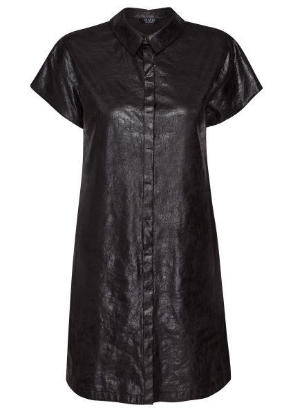 Kleid Marokko Chic aus veganem Veloursleder