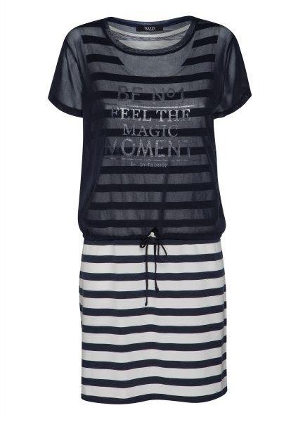 Kleid Re-fresh Blue im angesagten Layering Look