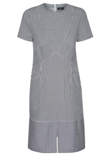 Kleid Re-fresh Blue mit eingearbeiteten Taschen