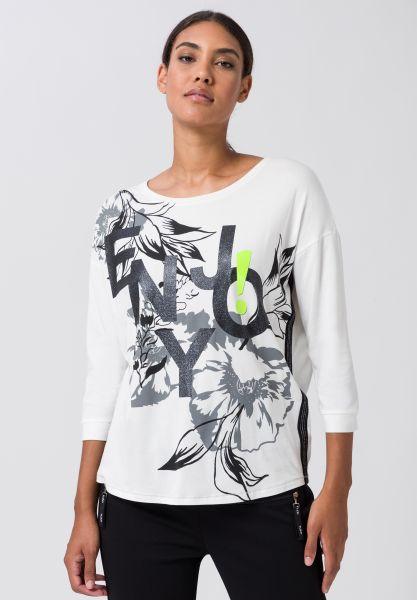 Shirt SPICY LIME mit Farbakzent